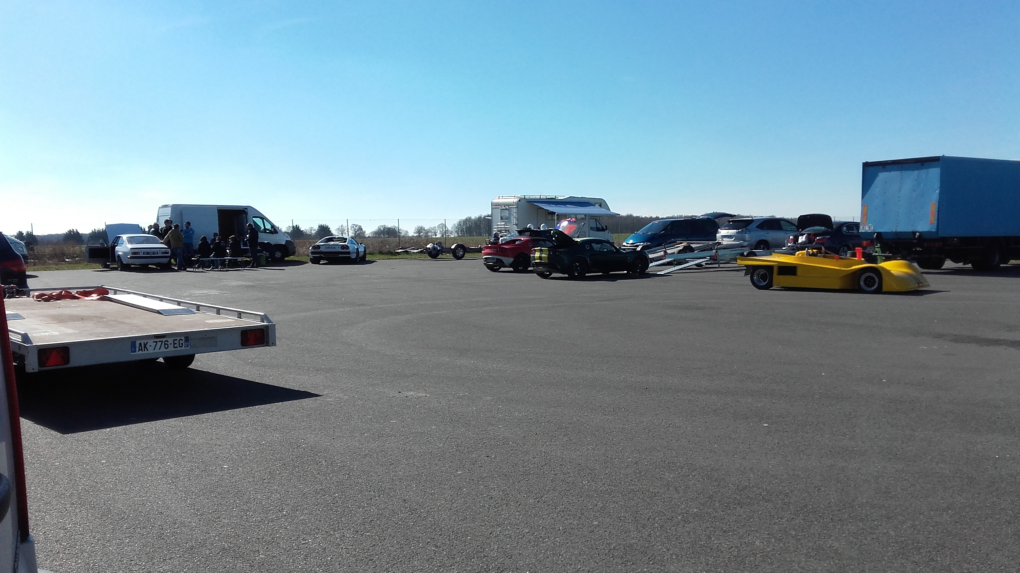circuit du bourbonnais parking
